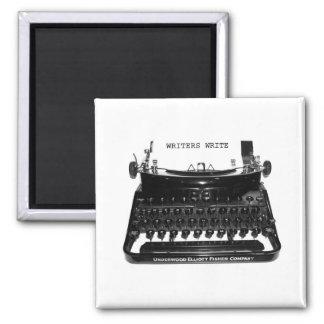 Writers Write Typewriter Magnet