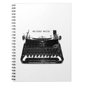 Writers Write Writer Author Novelist Notebook