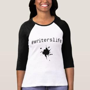 #writerslife long sleeve t-shirt