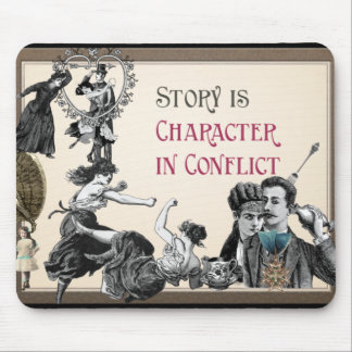 Writewell Academy Character In Conflict Mousepad