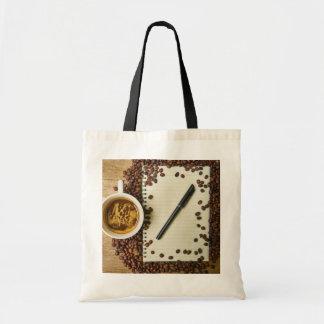 Writing and Coffee Tote Bag