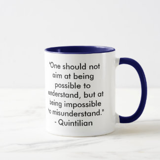 Writing & Editing Quotation Mug