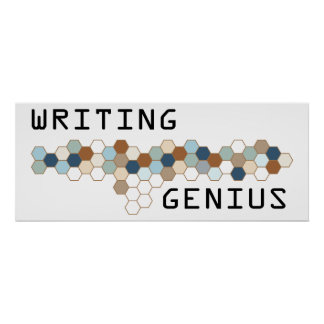 Writing Genius Print