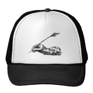Writing Hand Trucker Hat