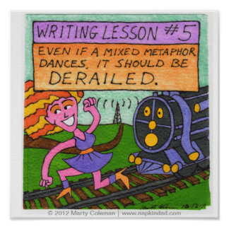 Writing Lesson #5 Poster