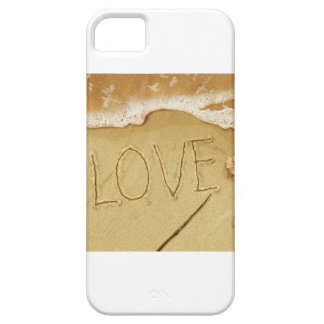 Writing Love In The Sand Case For The iPhone 5