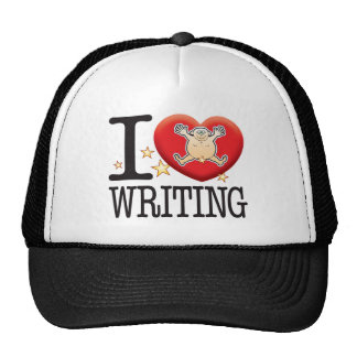 Writing Love Man Trucker Hat