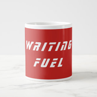 Writing motivation mug, writing fuel quote cup