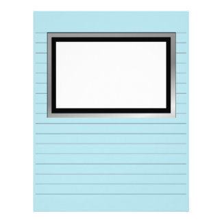 Writing Paper With Lines and Picture Box