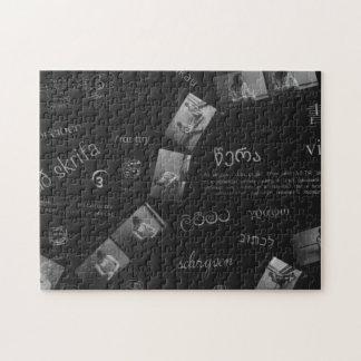 Writing Photogram Jigsaw Puzzle
