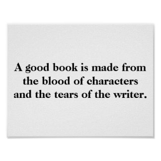 Writing Quote Poster #1