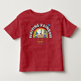 Writing Rainbow Toddler Shirt