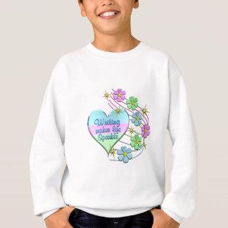 Writing Sparkles Sweatshirt