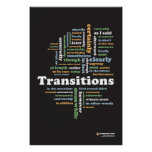 "Writing Transitions 24"" x 36"" Classroom Poster"