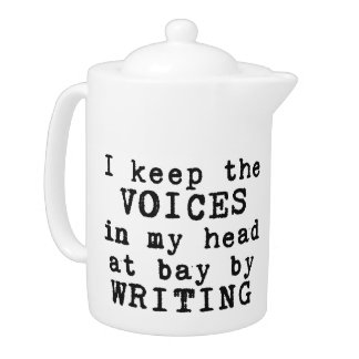 Writing/Voices Teapot