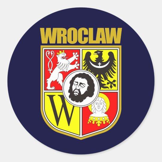 Wroclaw Classic Round Sticker