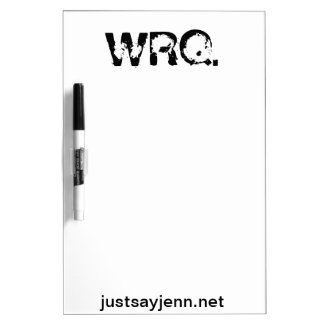 WRQ dry erase board