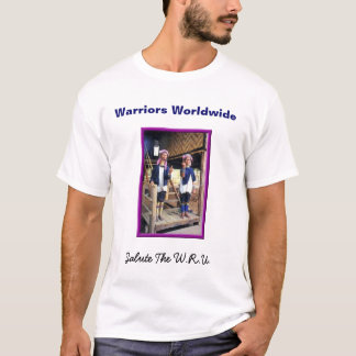 WRU-Warriors Salute T-Shirt