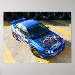 WRX Race car Print
