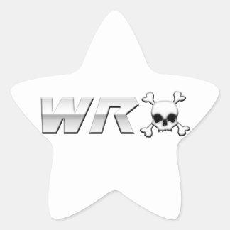 WRX with Scull Sticker
