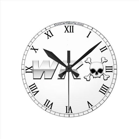 WRX with Skull Clock