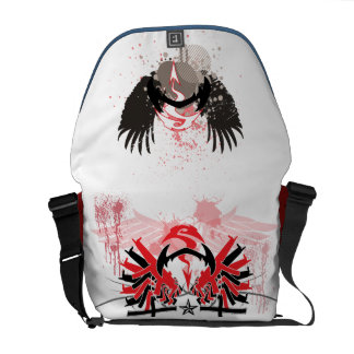 WS Guns/Wings bag Courier Bag