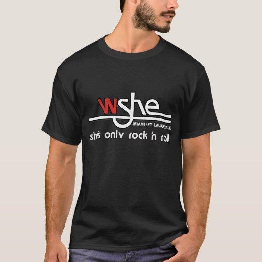 WSHE Men's T-Shirt Black