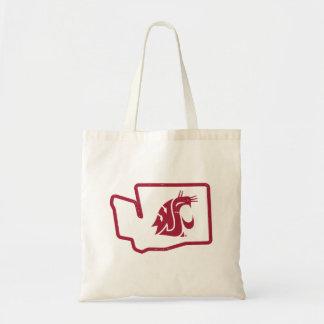WSU Cougars   Vintage Washington State Tote Bag