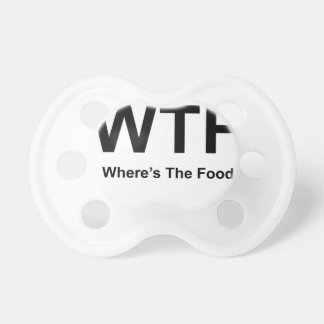 WT F, black fonts Pacifier