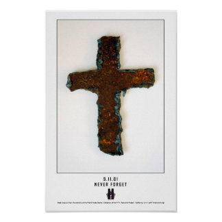 WTC Steel Cross Print