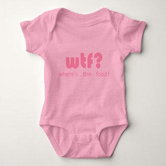 WTF baby bodysuit