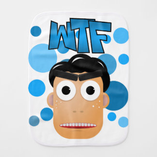 WTF BURP CLOTH