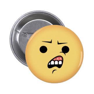 WTF Emoji 2 Inch Round Button