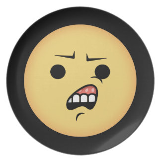 WTF Emoji Plate