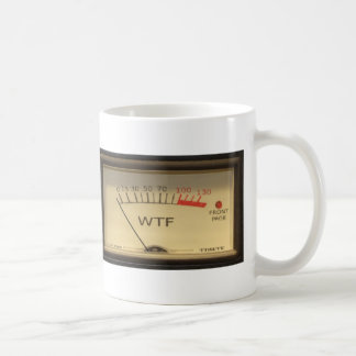 WTF Meter Mug