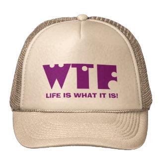Wtf - Quote Cap Trucker Hat