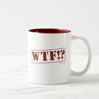 WTF Stamp Mug