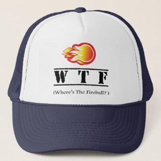 WTF - Where's the Fireball? Trucker Hat