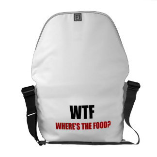 WTF Wheres The Food Commuter Bag