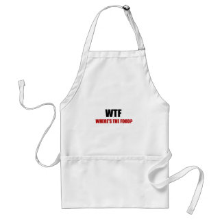 WTF Wheres The Food Standard Apron