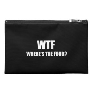 WTF Wheres The Food Travel Accessories Bags