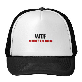 WTF Wheres The Food Trucker Hat