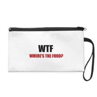 WTF Wheres The Food Wristlet Purse