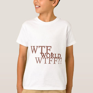WTF World T-Shirt