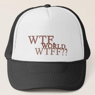 WTF World Trucker Hat