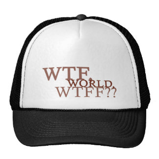 WTF World Trucker Hat