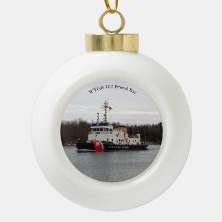 WTGB 102 Bristol Bay ball or snowflake ornament
