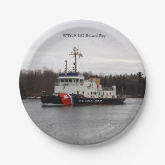 WTGB 102 Bristol Bay paper plate 7 Inch Paper Plate
