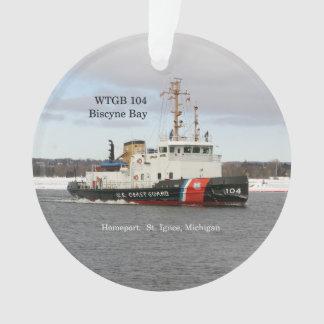 WTGB 104 Biscyne Bay acrylic ornamen Ornament