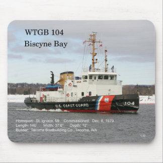 WTGB 104 Biscyne Bay mousepad